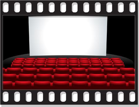 asiento: CINE Vectores
