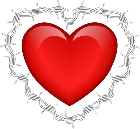 loveless: heart and barbed wire