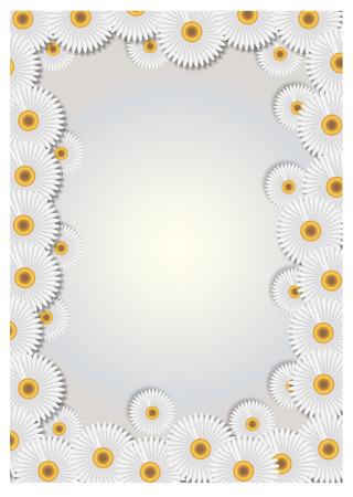 aster: daisy frame