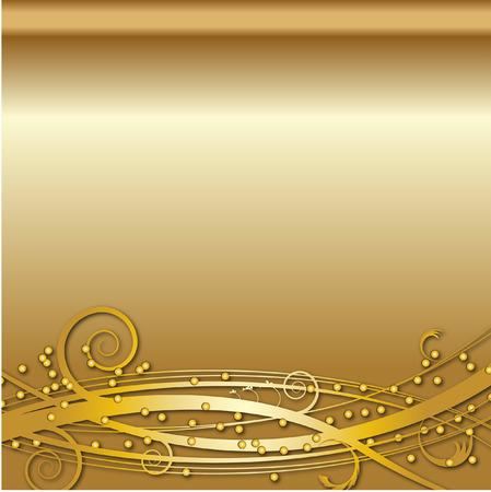 GOLD wirowa tle