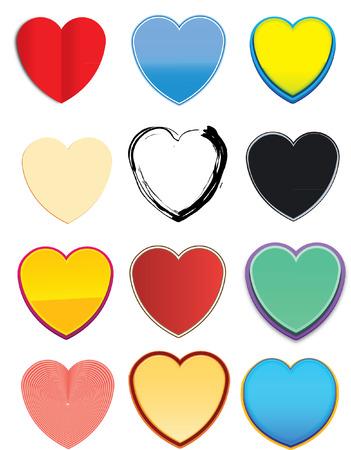 HEARTS GRAPHIC Vector