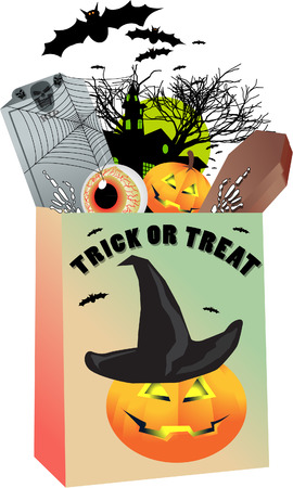 trick or treat: trick or treat