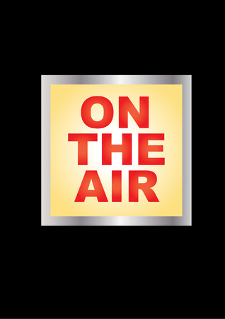 stock photograph: ON THE AIR