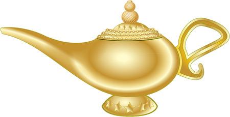 lampada magica: MAGIC LAMP Vettoriali