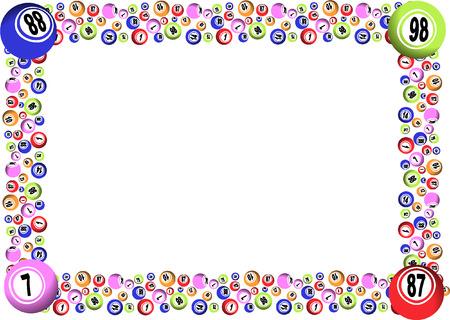 ビンゴ フレーム 写真素材 - 37136635