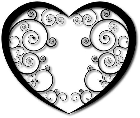 cuore: CUORE Vettoriali