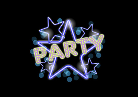 neon party: NEON PARTY