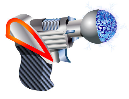 rapid fire: GUN Illustration