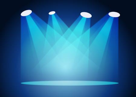 SPOT LIGHTS  イラスト・ベクター素材