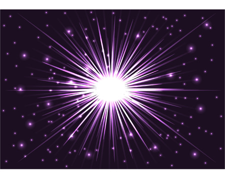 STAR BACKGROUND Illustration