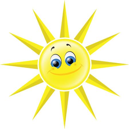 heat radiation: Sun Illustration