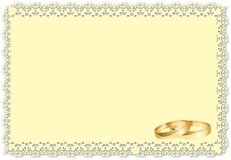 alliance: WEDDING RINGS Illustration
