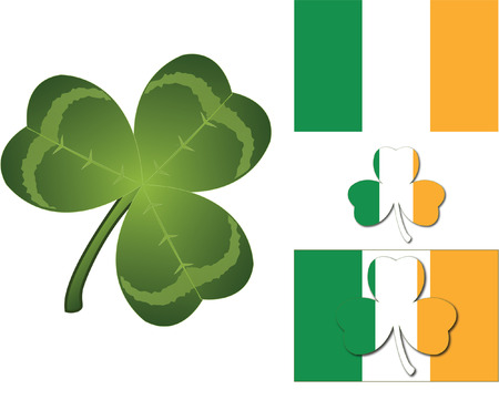 irish symbols: IRISH SYMBOLS Illustration