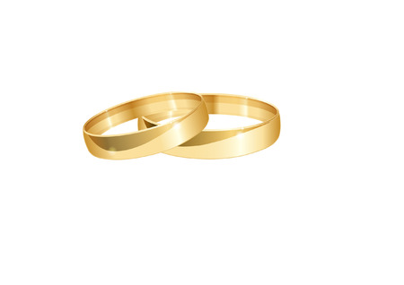 rings: WEDDING RINGS Illustration