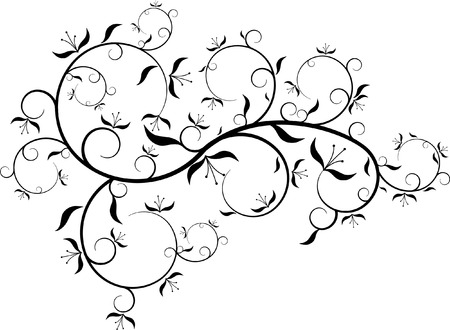 bedder: FLORAL DECORATION Illustration