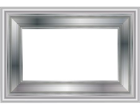 silver frame: SILVER FRAME Illustration