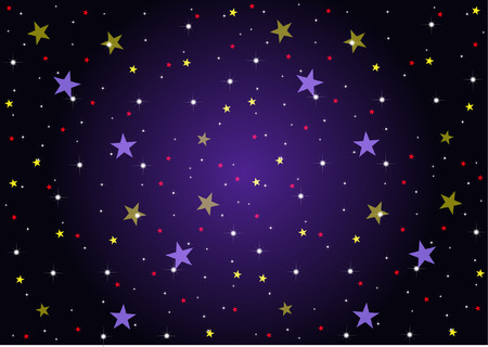 STAR BACKGROUND Stock Illustratie