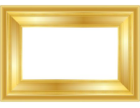 gilt: GOLD FRAME Illustration