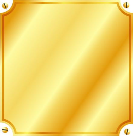 plate: GOLD PLATE