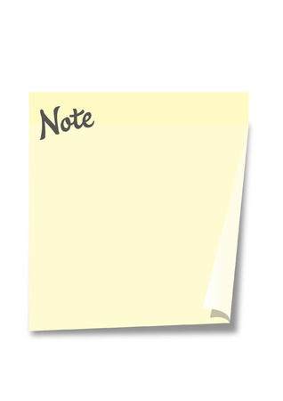 stock photograph: POST NOTE