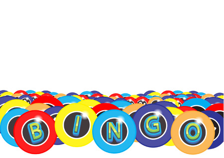 Bingo background Vector Illustration