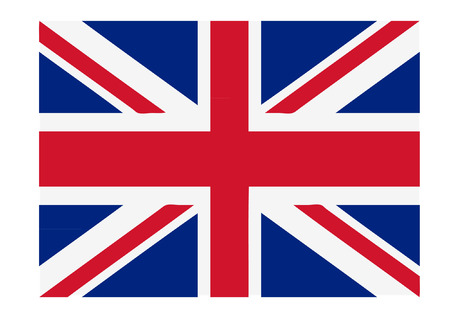 great britain flag 向量圖像