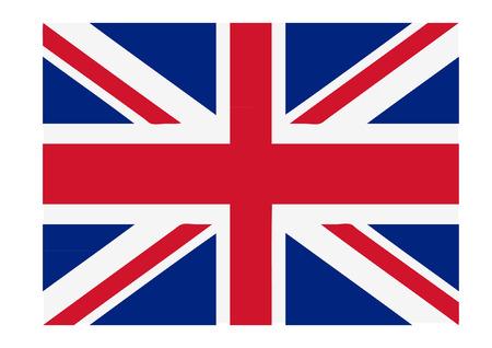 great britain flag: great britain flag Illustration