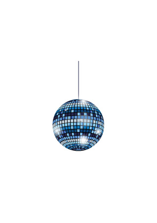 glitter ball: glitter ball Illustration