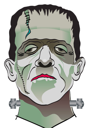 FRANKENSTINE Stock Illustratie