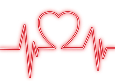 Heartbeat Line Art : Heartbeat line cliparts stock vector and royalty free