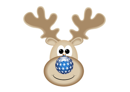 red nosed reindeer: RUDOLPH