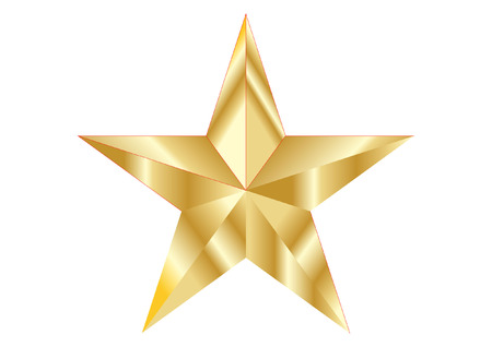 stock photograph: GOLD STAR