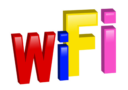 wi: WI FI Illustration