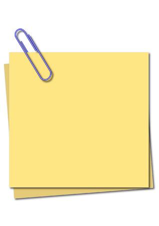 postscript: sticky notes Illustration