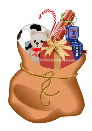toy sack:
