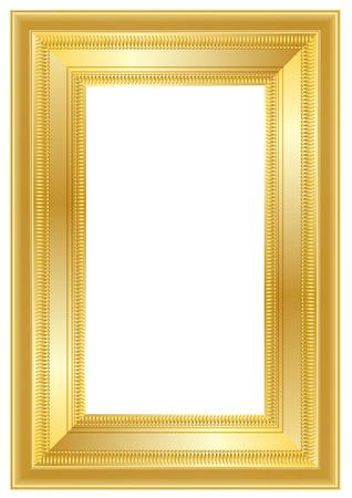 stock photographs: gold frame Illustration