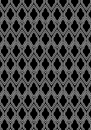 twenties: deco pattern