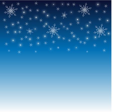 stock photo: snowflakes Illustration
