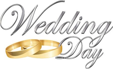 stock photographs: wedding rings Illustration