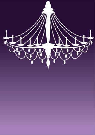 interior decoration: chandelier