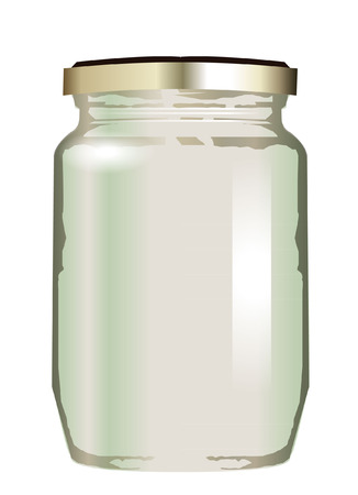 stock photograph: Jar illustration  Illustration