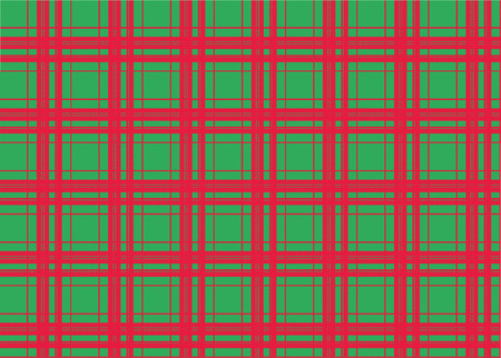 Red Plaid Pattern Vectores