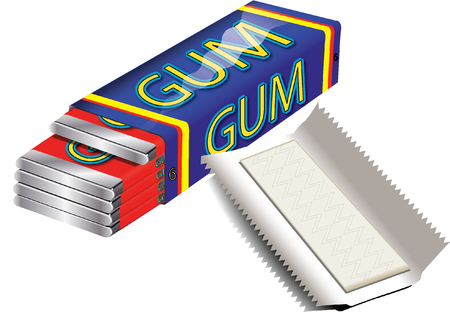 chewing: Chewing gum