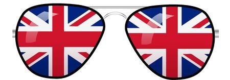 Sun Glasses Ilustração Vetorial