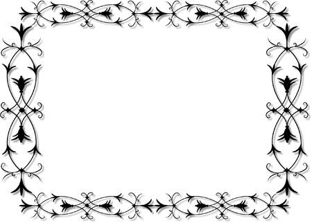 the frame: ornate frame