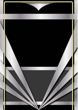 Art Deco Background and Frame