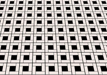 tiled: marble tiled floor Illustration