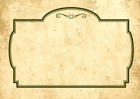 eps picture: background of old parchment paper texture