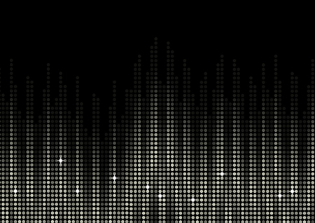 recovering: binary code data digits flowing on computer display