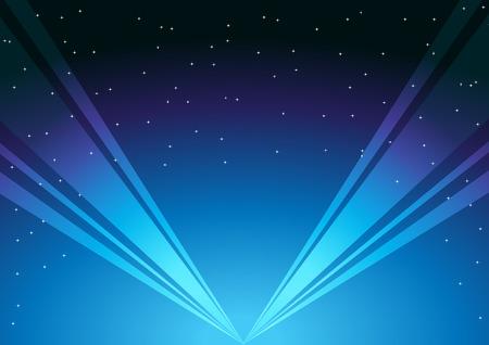 light show: spot light background